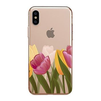 Tulips - iPhone Clear Case