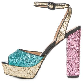 Women's Jack-1 High Heel Glitter Dress Shoe