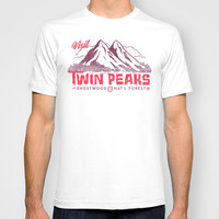 Visit Twin Peaks T-shirt by Gimetzco's Damaged Goods