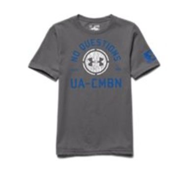 Under Armour Boys' UA Combine Training No Questions T-Shirt