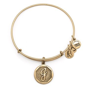 Initial J Charm Bracelet | Alex and Ani