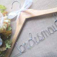 Personalized wedding hanger FREE mrs or love ring with each order now thru end of July