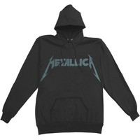 Metallica Men's  Kirk Ouija Guitar Hooded Sweatshirt Black Rockabilia