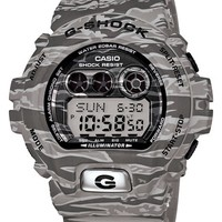Men's G-Shock XL Camouflage Pattern Digital Watch, 58mm x 54mm