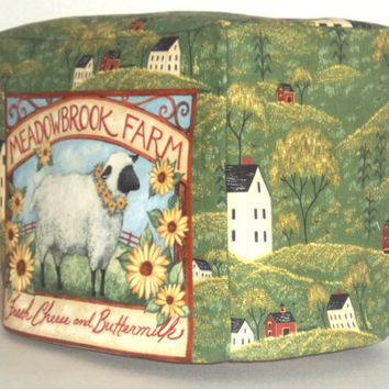 2 slice toaster cover - Sheep Farm