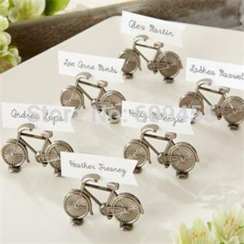 """180pcs/+Creative Design"""""""" Bicycle Place Holder Table Number Holders Wedding Party Decoration Favor+SHIPPPING"""
