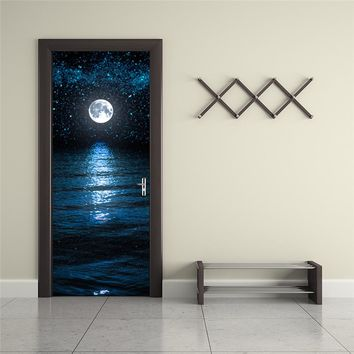 3D Wall Sticker Art Decor Vinyl Removable Scene Door Decal