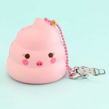 Creamiicandy Limited Edition Marshmellii Piggie Mini Poop Squishy Charm