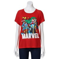 Freeze ''Marvel Comics'' Group Shot Tee - Juniors, Size: