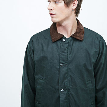 Urban Renewal Vintage Surplus Wax Jacket in Olive - Urban Outfitters