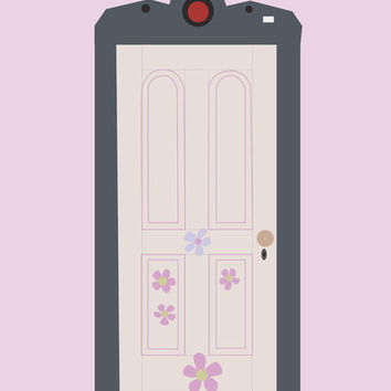 Boo's door.. monster's inc.. girl bedroom.. disney pixar.. digital file