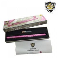 Streetwise Tactical Pen w/ Light & DNA Collector - Pink