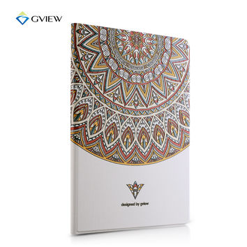 Designer Smart Case For Ipad4 3 2 3d Embossing Luxury Floral Fashion Smart Stand Leather Cover For Ipad 3 2 4, New Hot Sale!