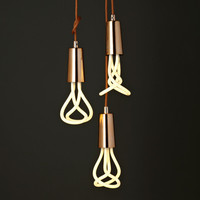 Drop Cap Pendant Set - Copper