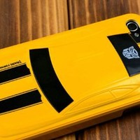 Transformers Alloy Case Bumblebee Car IPhone 4 4G Hard Case Cover