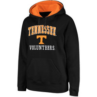 Tennessee Volunteers Arch & Logo Mascot Pullover Hoodie - Charcoal