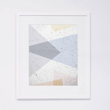 Pastel Abstract Art Print 2