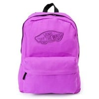 Vans Realm Neon Purple Backpack