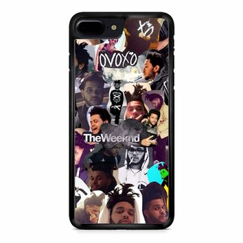The Weeknd Collage iPhone 8 Plus Case