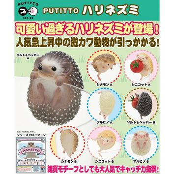 Putitto Series Hedgehog (Random Single)