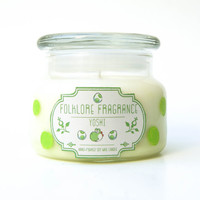 Yoshi Inspired Scented Soy Wax Candle (Melon & Jasmine)