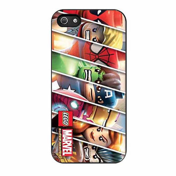 lego avenger character cases for iphone se 5 5s 5c 4 4s 6 6s plus