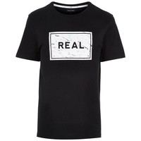 Real Black T-shirt