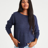 AEO Layer-Perfect Lightweight Sweater, Navy
