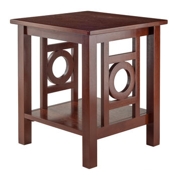 Ollie End Table Walnut