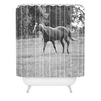 Allyson Johnson Out In The Pasture Shower Curtain