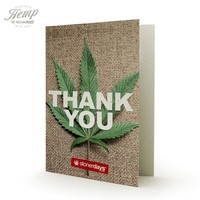 THANK YOU HEMP CARDS