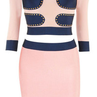 Luna Two Piece Bandage Dress