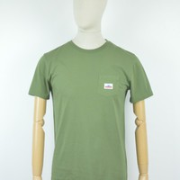 Penfield AW17 Label T-Shirt in Olive