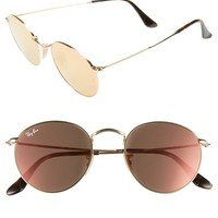 Ray-Ban 50mm Round Sunglasses | Nordstrom