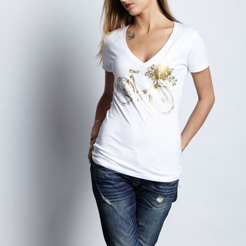 Bohemian Bicycle Tee Shirt