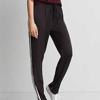 AEO Silky Track Pant, Black