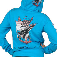 Ed Hardy Born Free Zip Up