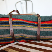 Vintage Pendleton Wool Camp Blanket
