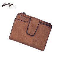 2016 Fashion Solid Vintage Women Wallet Small Female Purse Zipper Carteras Fashion Ladied Purse Brand Card Holder