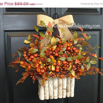WREATHS ON SALE summer wreaths fall wreaths berry berries wreaths front door decor decorations front door wreaths outdoor wreaths fall door