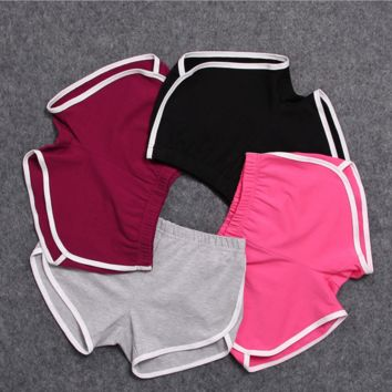 New sports shorts women yoga beach pants fitness casual cotton women shorts