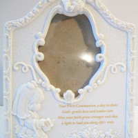 Precious Moments First Communion Picture Frame Religious Home Decor
