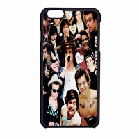 Harry Styles One Direction Collage Clothes Off iPhone 6 Case