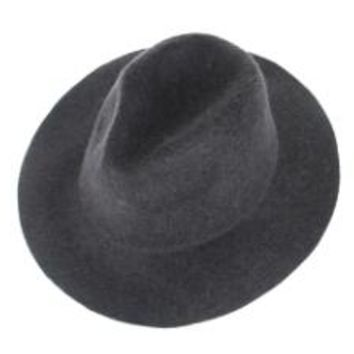 Fedora Trilby Hat - Unisex 100% Real Wool - Wide Brim Soft Cashmere