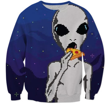 Hungry Alien Sweatshirt