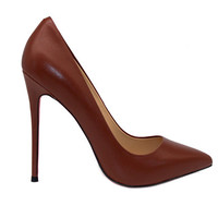 5 inch Heels - Dark Brown Pumps