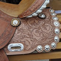 STALLION TACK WESTERN SADDLE