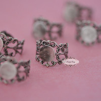 10pcs Adjustable Ring Bases