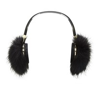 Faux Fur Headphones