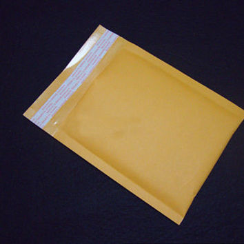 CB 10X 130*230+40mm Kraft Bubble Bag Padded Envelopes Mailers Shipping Yellow C3